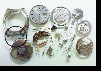 クォーツ式腕時計修理---セイコーシルバーウェーブZ7123Aクォーツ腕時計 分解掃除(オーバーホール)【times-machine.com】《 時計修理 》【三田時計メガネ店@栃木県大田原市前田】