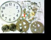 セイコー30日巻カギ巻柱時計 分解掃除(オーバーホール)---もうちょっと詳しく・・・拡大版【時計修理】機械式柱時計修理4 地板車軸穴 修復再生修理へ