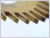 機械式柱時計修理---ガンギ車の歯の摩耗【times-machine.com】《 時計修理 》【三田時計メガネ店@栃木県大田原市前田】
