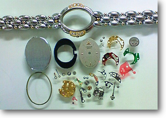 クォーツ式腕時計修理---セイコークレドール1F70Aクォーツ腕時計 分解掃除(オーバーホール)【times-machine.com】《 時計修理 》【三田時計メガネ店@栃木県大田原市前田】
