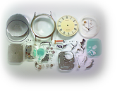 セイコードルチェ7741Aクォーツ腕時計 分解掃除(オーバーホール)---もうちょっと詳しく・・・拡大版【OVERHAUL】《 時計分解 》【times-machine.com】時計修理の分解工程・組立工程へ