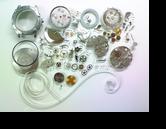 タグホイヤークロノグラフVAL7750自動巻腕時計 分解掃除(オーバーホール)