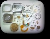 機械式腕時計修理---テクノスパーペトロン電子腕時計 分解掃除(オーバーホール)【times-machine.com】《 時計修理 》【三田時計メガネ店@栃木県大田原市前田】