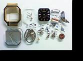 ウォルテックW.GERMANYクォーツ腕時計 分解掃除(オーバーホール)