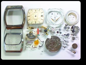 クォーツ式腕時計修理---ウォルサムダイナックスESA935312クォーツ腕時計 分解掃除(オーバーホール)【times-machine.com】《 時計修理 》【三田時計メガネ店@栃木県大田原市前田】