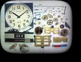 リズム30日巻カギ巻柱時計 分解掃除(オーバーホール)---もうちょっと詳しく・・・拡大版【OVERHAUL】《 時計分解 》【times-machine.com】時計修理の分解工程・組立工程へ