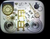 セイコー8日巻カギ巻柱時計 分解掃除(オーバーホール)---もうちょっと詳しく・・・拡大版【OVERHAUL】《 時計分解 》【times-machine.com】時計修理の分解工程・組立工程へ