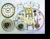セイコー8日巻カギ巻柱時計 分解掃除(オーバーホール)---もうちょっと詳しく・・・拡大版【時計修理】機械式柱時計修理5 振りベラ別作 修復再生修理へ