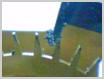 機械式柱時計修理---アンクル、ガンギ車の汚れ【times-machine.com】《 時計修理 》【三田時計メガネ店@栃木県大田原市前田】