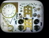アイチ30日巻カギ巻柱時計 分解掃除(オーバーホール)---もうちょっと詳しく・・・拡大版【OVERHAUL】《 時計分解 》【times-machine.com】時計修理の分解工程・組立工程へ