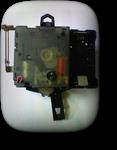 シチズン・リズムクォーツ柱時計(ムーブメント・打ち方付)---もうちょっと詳しく・・・拡大版【OVERHAUL】《 時計分解 》【times-machine.com】時計修理の分解工程・組立工程へ