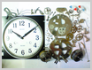 機械式柱時計修理---カギ巻柱時計分解掃除(オーバーホール)【times-machine.com】《 時計修理 》【三田時計メガネ店@栃木県大田原市前田】