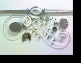 シチズンローヌ4311手巻腕時計 分解掃除(オーバーホール)---もうちょっと詳しく・・・拡大版【OVERHAUL】《 時計分解 》【times-machine.com】時計修理の分解工程・組立工程へ