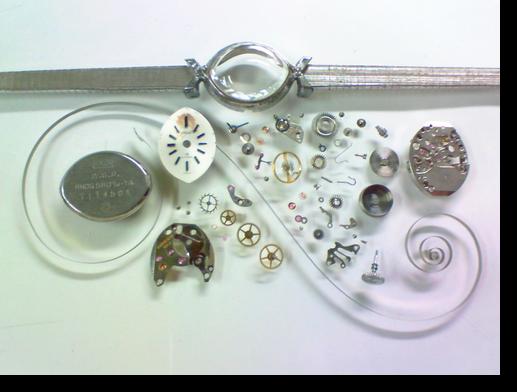 11.シチズンローヌ4311手巻腕時計 分解掃除(オーバーホール)