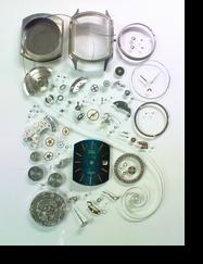 機械式腕時計修理---セイコーデリカ2415A自動巻腕時計 分解掃除(オーバーホール)【times-machine.com】《 時計修理 》【三田時計メガネ店@栃木県大田原市前田】