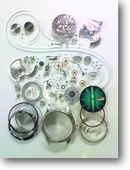 機械式腕時計修理---セイコージョイフル2466A自動巻腕時計 分解掃除(オーバーホール)【times-machine.com】《 時計修理 》【三田時計メガネ店@栃木県大田原市前田】