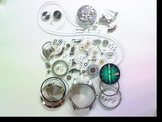 21.セイコージョイフル2466A自動巻腕時計 分解掃除(オーバーホール)