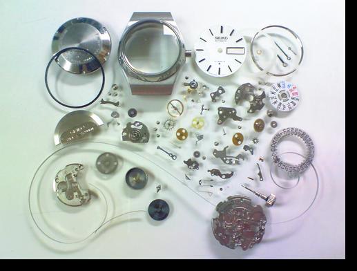 19.セイコージョイフル2906A自動巻腕時計 分解掃除(オーバーホール)