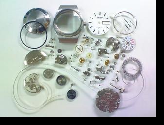 機械式腕時計修理---セイコージョイフル2906A自動巻腕時計 分解掃除(オーバーホール)【times-machine.com】《 時計修理 》【三田時計メガネ店@栃木県大田原市前田】