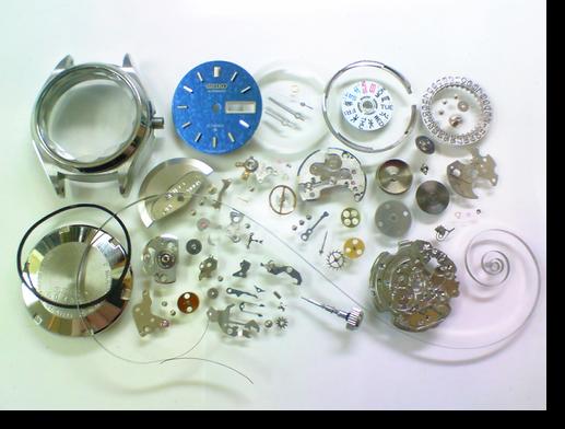 16.セイコージョイフル2906A自動巻腕時計 分解掃除(オーバーホール)