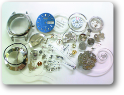 クォーツ式腕時計修理---セイコージョイフル2906A自動巻腕時計 分解掃除(オーバーホール)【times-machine.com】《 時計修理 》【三田時計メガネ店@栃木県大田原市前田】