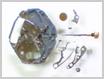 クォーツ式腕時計修理---シチズンフォルマ4634Mクォーツ腕時計 針回し部をはずした状態【times-machine.com】《 時計修理 》【三田時計メガネ店@栃木県大田原市前田】