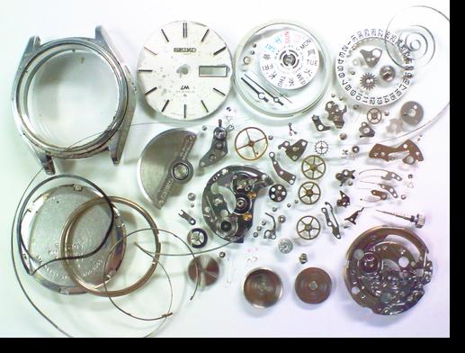 15.セイコーロードマチック5606A自動巻腕時計 分解掃除(オーバーホール)
