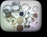 ウィークリーオートオリエントE9自動巻腕時計 分解掃除(オーバーホール)---もうちょっと詳しく・・・拡大版【OVERHAUL】《 時計分解 》【times-machine.com】時計修理の分解工程・組立工程へ