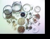 オリエントウィークリーオートE9自動巻腕時計 分解掃除(オーバーホール)---もうちょっと詳しく・・・拡大版【時計修理】機械式腕時計修理3 支足折れ(文字盤の足折れ) 修復再生修理へ