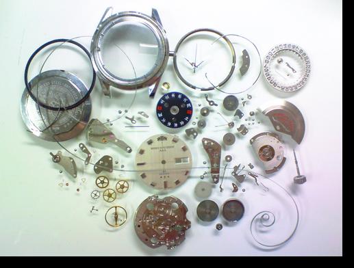 22.オリエントウィークリーオートE9自動巻腕時計 分解掃除(オーバーホール)