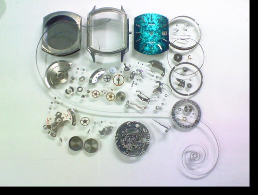 27.セイコーデリカ2415A自動巻腕時計 分解掃除(オーバーホール)