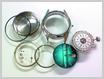 機械式腕時計修理---機械をケースから取り出し、針、文字盤をはずした状態【times-machine.com】《 時計修理 》【三田時計メガネ店@栃木県大田原市前田】