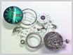 機械式腕時計修理---機械の前側の部品をはずした状態【times-machine.com】《 時計修理 》【三田時計メガネ店@栃木県大田原市前田】