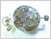 機械式腕時計修理---テンプをはずした状態【times-machine.com】《 時計修理 》【三田時計メガネ店@栃木県大田原市前田】