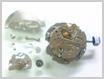 機械式腕時計修理---セイコージョイフル2906A自動巻腕時計 自動巻部をはずした状態【times-machine.com】《 時計修理 》【三田時計メガネ店@栃木県大田原市前田】