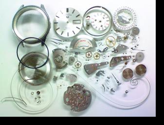 機械式腕時計修理---セイコー5スポーツマチックデラックス7619A自動巻腕時計 分解掃除(オーバーホール)【times-machine.com】《 時計修理 》【三田時計メガネ店@栃木県大田原市前田】