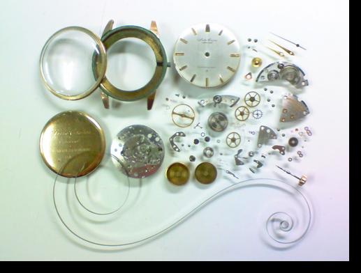 9.セイコークロノススペシャル810手巻腕時計 分解掃除(オーバーホール)